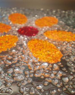 Annarita vetrate artistiche vetrate graniglia for Graniglia di vetro
